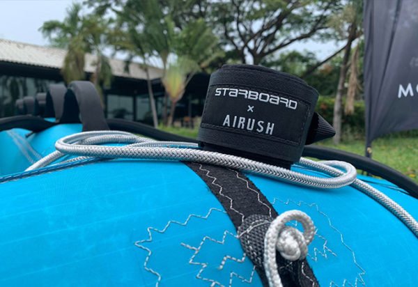 Starboard Airush FreeWing Air teal Leash Pure Surfshop