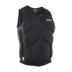 ION Collision Vest Core FZ black front Pure Surfshop