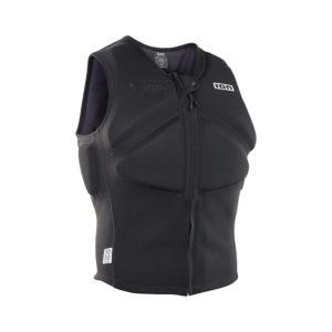 ION Vector Vest Core FZ black front Pure Surfshop