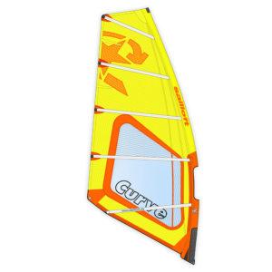 Sailloft 2021 Curve Yellow Orange Pure Surfshop