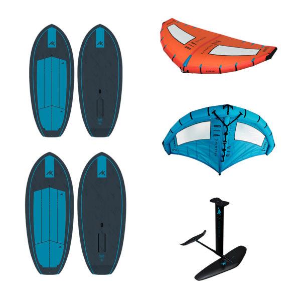 AK Airush Wingfoil Set Pure Surfshop