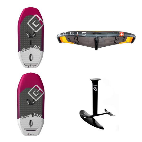 MB-Boards Ensis Wingfoil Set Pure Surfshop