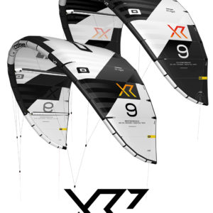 CORE Kiteboarding XR7 black and white pure surfshop